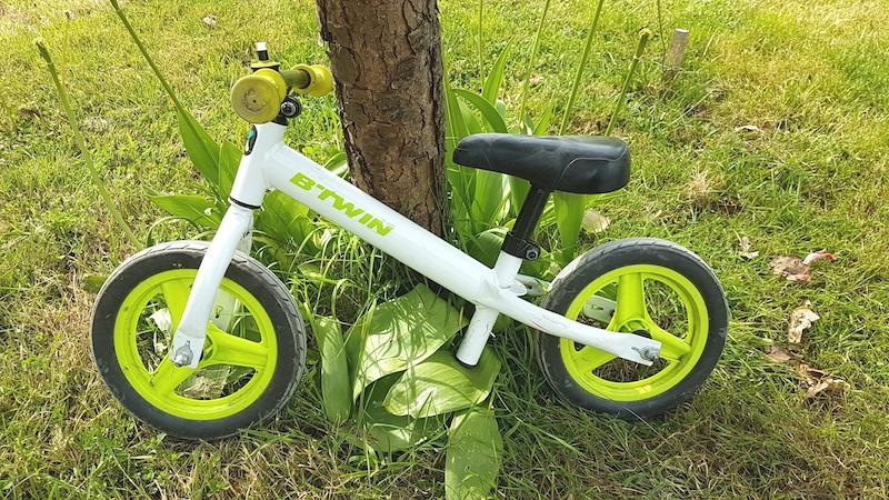 draisienne apprentissage vélo