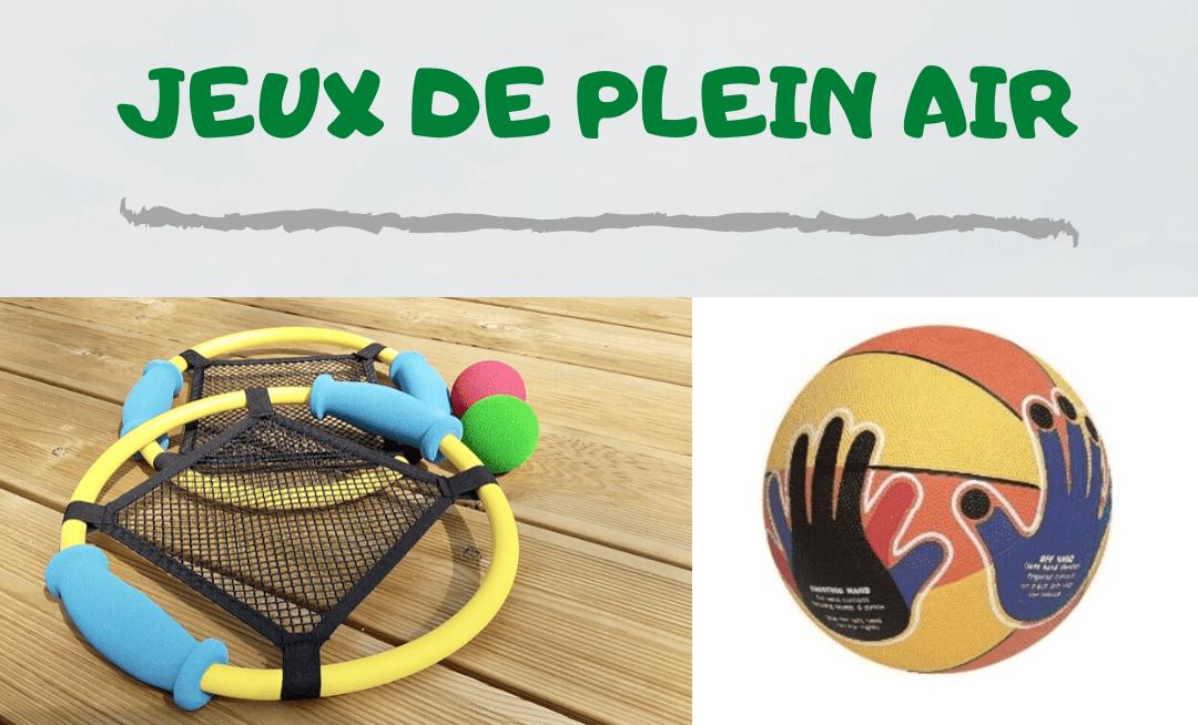 jeux plein-air adaptés pour enfants avec TDAH